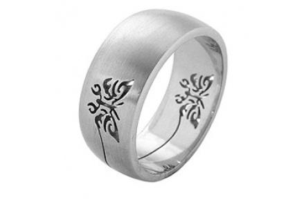 Prsten z chirurgické oceli RSSO260