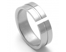 Pánský titanový snubní prsten TTN3501