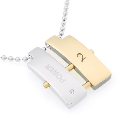 Přívěsek Due Power Gold28