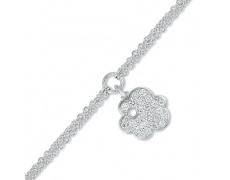 Stříbrný náramek Cacharel CSB225Z18, materiál stříbro 925/1000, zirkon, váha: 4.20g