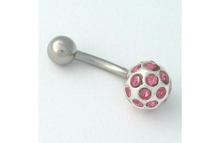 Piercing  do pupíku SBT rose