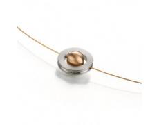 Ocelový náhrdelník TeNo ShiKou 011-3501RG