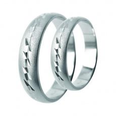 Snubní prsteny Lucie Gold Charlotte S-165-b, materiál bílé zlato 585/1000, váha: průměrná 8.00g