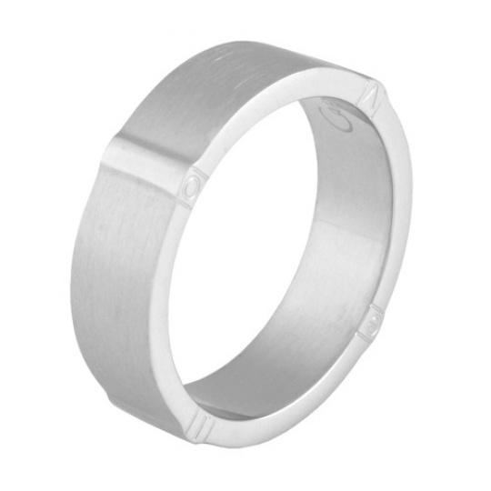 Prsten z chirurgické oceli LOVE RSCL01