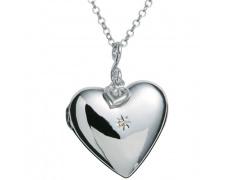Náhrdelník Hot Diamonds Giselle DP132, materiál stříbro 925/1000, 1x diamant, váha: 12g
