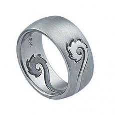 Prsten z chirurgické oceli RSS218