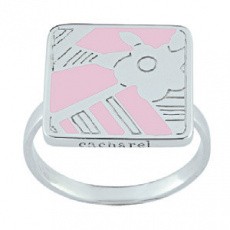 Stříbrný prsten Cacharel CLR209P, materiál stříbro 925/1000, pvd úprava, váha: 4.50g