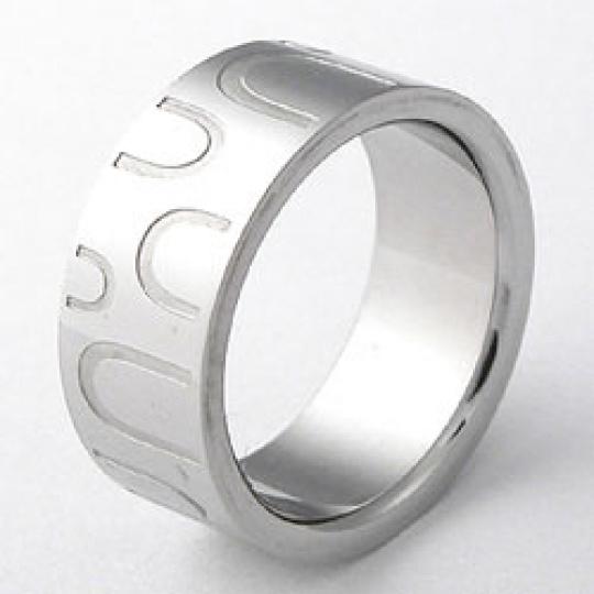 Prsten  z chirurgické oceli RSLW17