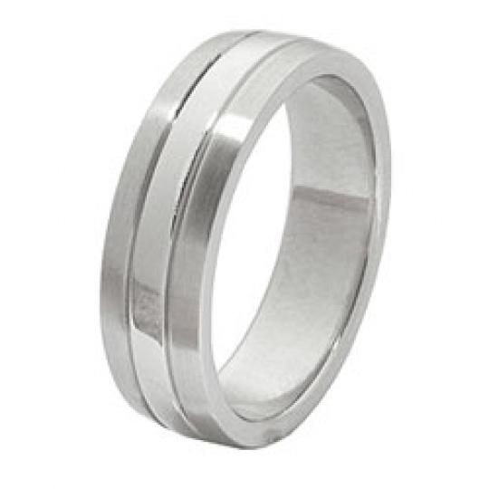 Prsten z chirurgické oceli RSS 224