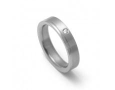 Dámský titanový snubní prsten TTN0302