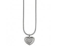 Náhrdelník Esprit Heart Twist ESNL-91845A
