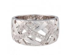 Zlatý prsten Champs Elysées B0380-G08