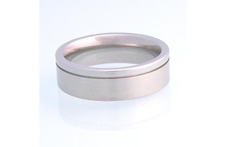 Prsten Tecalli z chirurgické oceli R7-29