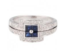 Zlatý prsten Champs Elysées B0009-G81