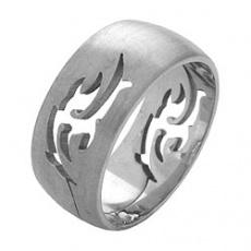 Prsten z chirurgické oceli RSS254