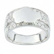 Stříbrný prsten Cacharel CSR154Z, materiál stříbro 925/1000, zirkon, váha: 6.40g