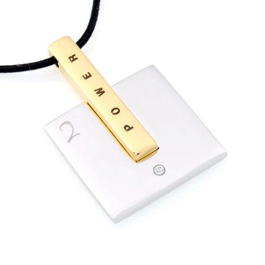 Přívěsek Due Power Gold25