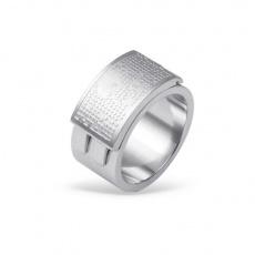 Prsten z chirurgické oceli RSS440