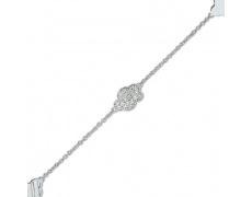 Stříbrný náramek Cacharel CSB155Z18, materiál stříbro 925/1000, zirkon, váha: 3.80g