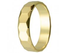 Snubní prsteny kolekce HARMONY5, materiál žluté zlato 585/1000, váha: u velikosti 54mm - 3.50g